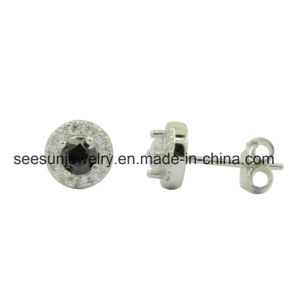 925 Silver Simple Stud Light Weight Earring pictures & photos
