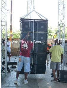Vt4889 Dual 15 Inch 3 Way Outdoor Line Array Loudspeaker with 2700W RMS pictures & photos