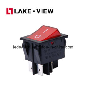 Rocker Switch 25A 250VAC with LED Light pictures & photos