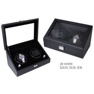 PU Leather Case Watch Case Packaging Box Auto Watch Winder pictures & photos