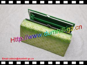 PU Fashion Match Color Wallet with Hinge Long pictures & photos