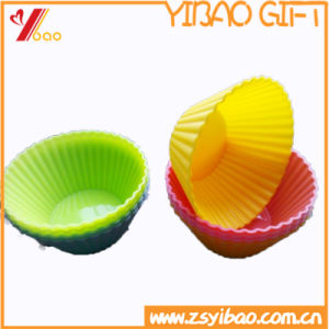 Ketchenware High Quality Easy to Clean Silicone Cup Cake Mold (YB-HR-134) pictures & photos