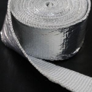 Radiant Heat Reflective Aluminum Foil Coated Fiberglass Tape pictures & photos