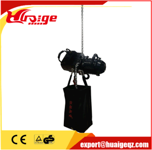 Stage Hoist Elevator Electric Chain Hoist Capacity 0.25-2ton pictures & photos