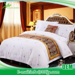 4 PCS Discount Satin Bedding Sheet Set pictures & photos