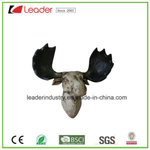 Polyresin Sheep Head Sculpture for Home and Wall Decoration pictures & photos