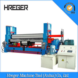 W11s Series Symmetric 3 Roller Steel Sheet Plate Roll Bending Machine pictures & photos