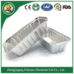 Grill Aluminum Foil Container Silver Aluminum Foil Container for Food pictures & photos