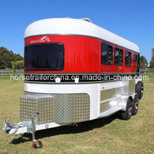 3 Horse Trailer Angel Load Deluxe Hot Sale in Australia pictures & photos