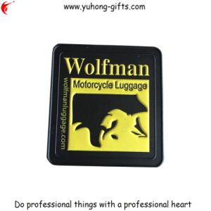 2015 Hot Soft PVC Rubber Garment Tag for Bag (YH-RL053) pictures & photos