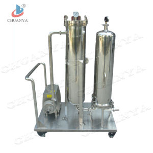 Filtration Cartridge Filter Housing with Pump for Water pictures & photos