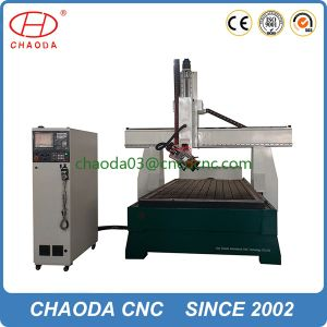 Electric CNC Carving Router for 3D Wooden Statue Milling pictures & photos