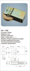 Copper Roller for Sliding Window and Door/ Hardware (SA-186) pictures & photos