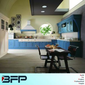 Best Price for Simple Kitchen Cabinet Design with PVC/Vinyl Door pictures & photos