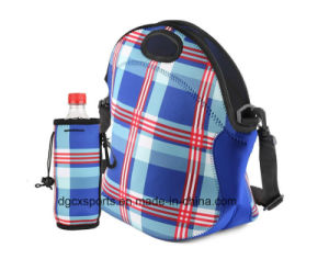 Popular Neoprene Single Bottle Cooler Bag for Outdoor pictures & photos