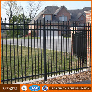 Ornamental Garden Powder Coated Steel Fence pictures & photos