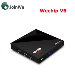 Newest Wechip V6 1GB/8GB Rk3328 Android 7.1 TV Box pictures & photos