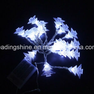 Star Shaped 4m 20 LED Warm White String Lights Home Garden Fairy Lamp Hot pictures & photos