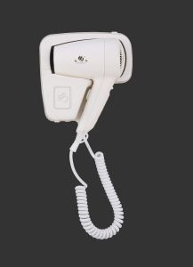Wall-Mounted Luxurious ABS White Color 1600W Hair Dryer for Hotel pictures & photos