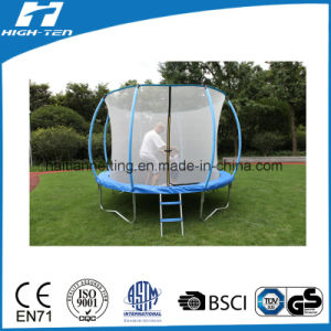Lantern Shape Trampoline with Safety Net Inside pictures & photos
