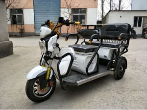 Ce Approval 3 Wheel Electric Tricycle for Passenger pictures & photos