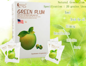Top Grade Slimming & Detox Green Plum for Free Sample pictures & photos