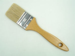 Featured Pure White Bristle Paint Brush pictures & photos