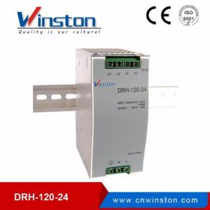 120W Single Output Industrial DIN Rail Power Supply Drh-120-24 pictures & photos