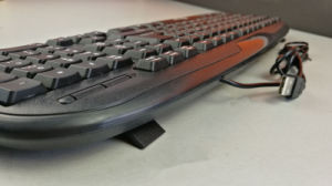 Promotional Cheap Waterproof Wired Keyboard PC Laptop pictures & photos