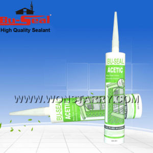 Show Window Acetic Moisture Curing Silicone Sealant pictures & photos
