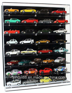 Custom Acrylic Model Wall Display Case for 1: 43 Model Cars pictures & photos