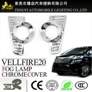 Auto Car Fog Light Chrome Plating Cover for Toyota Aqua 10 Series pictures & photos