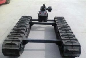 Liulin Combined Harvester Rubbertracks pictures & photos
