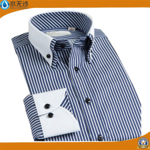 2017 Formal Shirts Men Oxford Fshion Design Dress Shirts pictures & photos