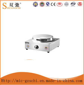 Commercial Stainless Steel Gas Single Head Crepe Maker pictures & photos