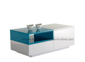 Modern Wooden UV High Gloss Coffee Table (Sea 502) pictures & photos