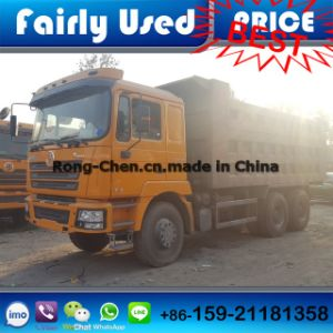 Heavy Duty Shacman Tipper Truck 340HP Used pictures & photos