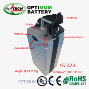 Small Size 20ah 48V Lithium LiFePO4 Rechargeable Battery pictures & photos