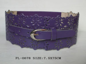 PU Perforated Belt (FL-0678) pictures & photos