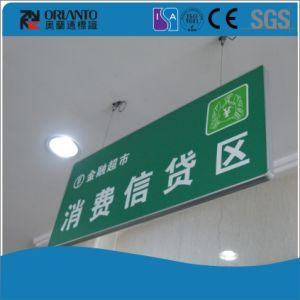 Indoor Aluminium Painting Flat Billboard Sign pictures & photos