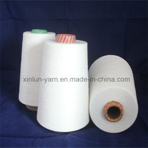 30s Polyester Viscose Blend Yarn T/R Yarn T65/R35 pictures & photos