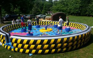 Wipeout Eliminator Inflatable, Wipeout Inflatable Sweeper, Meltdown Zone Inflatable Game pictures & photos