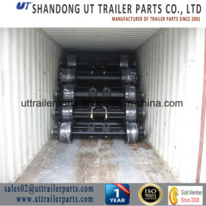 Sauare Tube /Round Tube Semi Trailer Axle pictures & photos