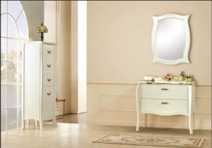 Pure Mat White New Classical Vanity pictures & photos