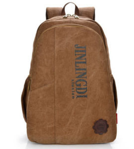 Canvas Backpack School Bags Backpack for Campus or Outdoor pictures & photos