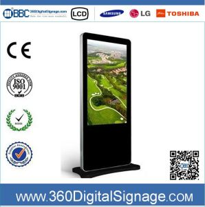 42 Inch HD Floor Standing LCD Indoor Digital Advertising Display with Network 3G/WiFi for Chain Shops