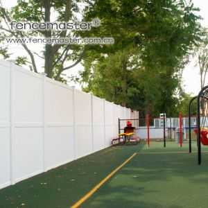 Vinyl Privacy Fence for Children′s Playground pictures & photos
