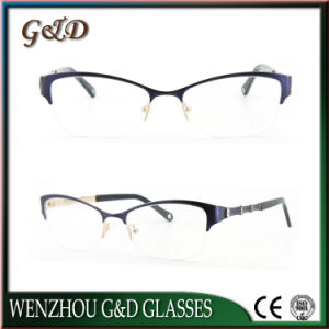 Fashion Design Metal Eyewear Eyeglass Optical Frame 49-506 pictures & photos