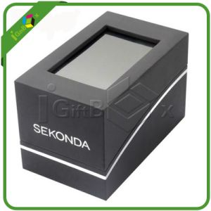 Delicate Rigid Paper Gift Packaging Boxes with Window pictures & photos