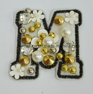 Gamrnet Accoessory Motif, Beads Motif, Becds Shoulder Patch pictures & photos